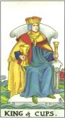 King of Cups - Minor Arcana Tarot Card