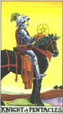 Knight of Pentacles - Minor Arcana Tarot Card