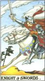 Knight of Swords - Minor Arcana Tarot Card