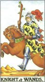 Knight of Wands - Minor Arcana Tarot Card
