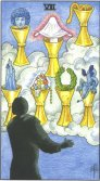 Seven of Cups - Minor Arcana Tarot Card
