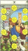 Ten of Pentacles - Minor Arcana Tarot Card