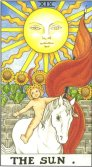 The Sun - Major Arcana Tarot Card
