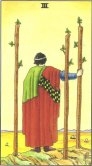 three of wands tarot card - free online reading