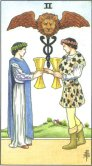 Two of Cups - Minor Arcana Tarot Card