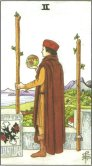 Two of Wands - Minor Arcana Tarot Card